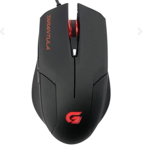 Mouse Gamer SPIDER TARANTULA OM-702 Preto/Vermelho FORTREK