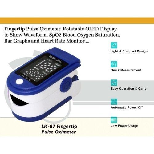 Oxímetro de ponta de dedo LK87 Fingertip - Pulse