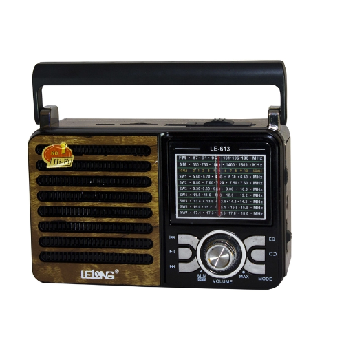 Radio Portátil Lelong Le 613