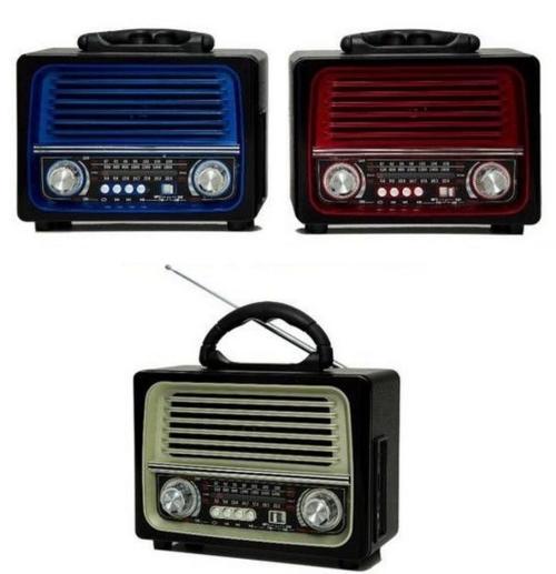 Radio Retro Lelong Le-642 Bluetooth Am Fm Usb Sd