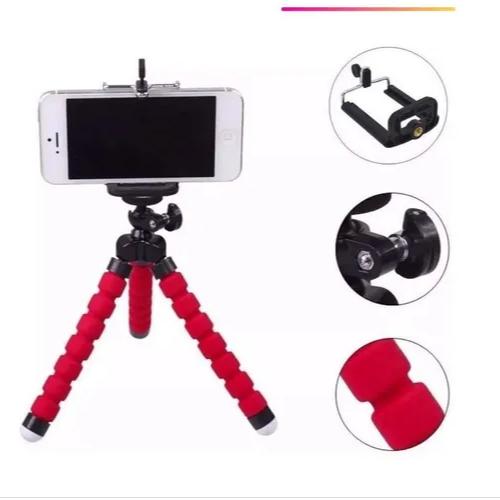 Tripé Flexível Articulado Suporte Celular Selfie Câmera It-blue