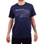 Camiseta Casual Go Bike Mountain Azul