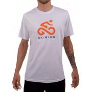 Camiseta Casual Go Bike Originals Branca