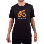 Camiseta Casual Go Bike Originals Preta