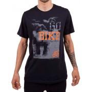Camiseta Casual Go Bike Pedal Nosso Preta