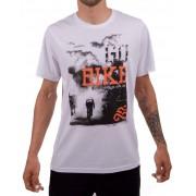 Camiseta Casual Go Bike Pedal Nosso Branca