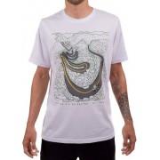 Camiseta Casual Go Bike Serra do Rio do Rastro Branca