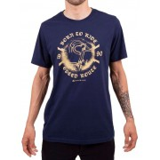 Camiseta Casual Go Bike Speed 90 Azul