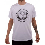 Camiseta Casual Go Bike Speed 90 Branca