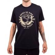 Camiseta Casual Go Bike Speed 90 Preta