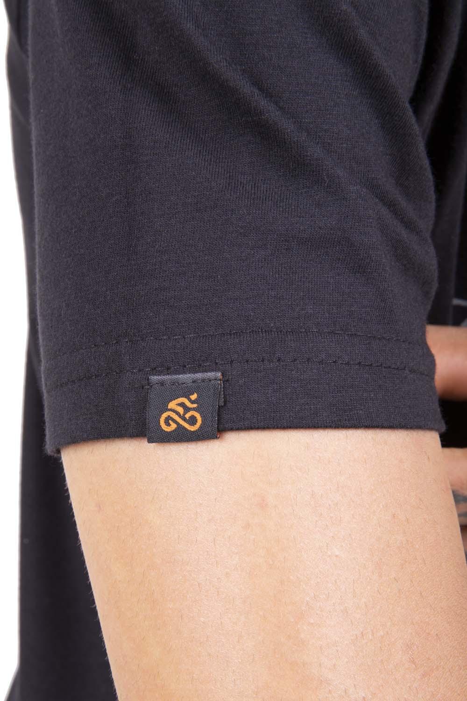 Camiseta Casual Go Bike Básica Preta