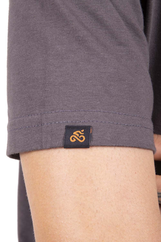 Camiseta Casual Go Bike Company Cinza