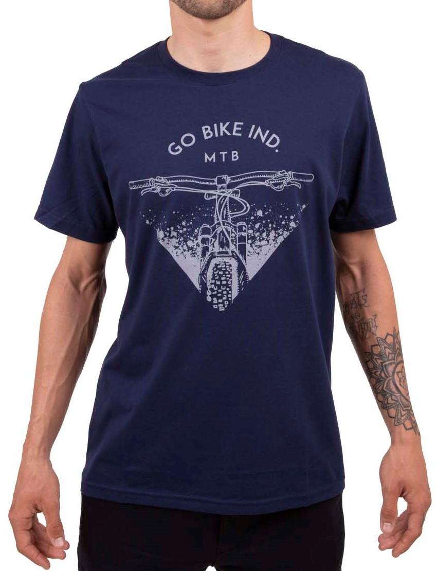 Camiseta Casual Go Bike Ind Mtb Azul