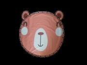 Tapete BLW / Tapete Bolsa Impermeável 1,30m - Ursinho