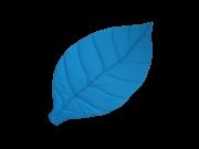 Tapete Folha Azul- Fofinho