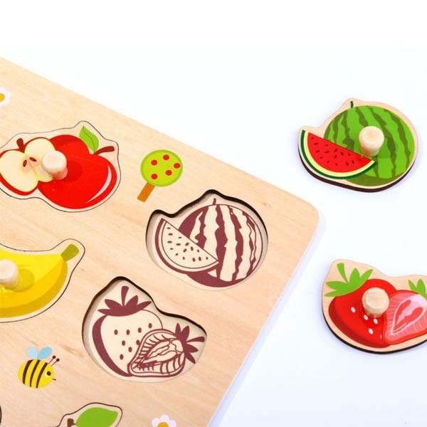 Encaixe Frutas - Com Pinos