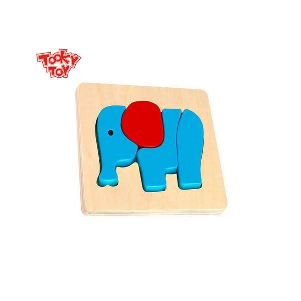 Mini Brinquedo de Encaixe - Elefante