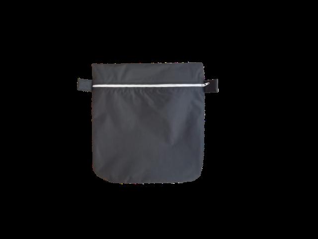 Saquinho Impermeável - Chumbo Zíper Colorido