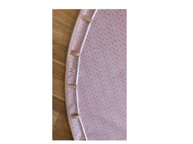 Tapete BLW 1,3 - Rosinha com Bolinhas