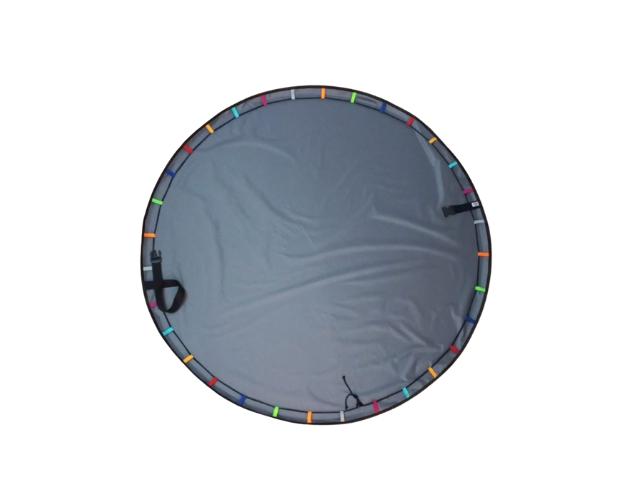 Tapete BLW / Tapete Bolsa 1,5m Com Alças - Grafite Arco íris