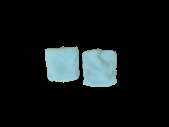 Toalha de Punho - Munhequeira Azul Bebê