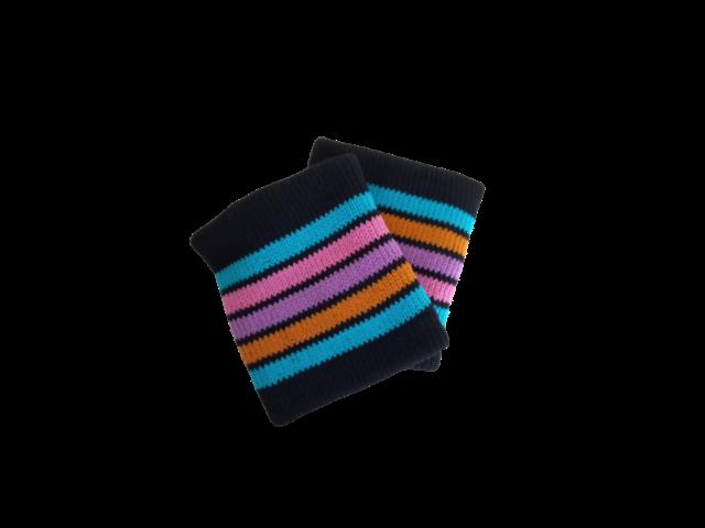 Toalha de Punho - Munhequeira Coloridinha