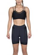 Bermuda Triathlon Carbon Black Woom (Preto) Fem 2020