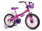 Bicicleta Infantil Aro 16 Menina Top Girls - Nathor