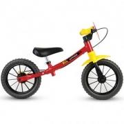 Bicicleta Infantil Nathor Balance Vermelha