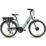 Bike Elétrica Urbana Sense Breeze Cinza