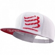 Bone Compressport Trucker Cap - Branco
