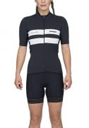 Camisa Ciclismo Squadra Woom Verona (Preto) Fem 2020