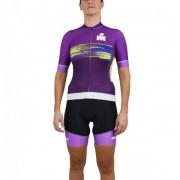 Camisa Ciclismo Woom IM Feminina - Pink
