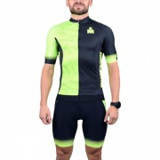 Camisa Ciclismo Woom Masculina - Ironman - Preto/Verde