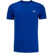 Camiseta new balance sport tech performance masculina TRY azul royal
