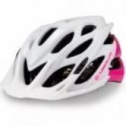 Capacete de Ciclismo Absolute Mia Branco/Rosa P/M