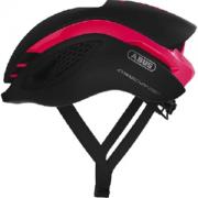 Capacete de Ciclismo Abus Gamechanger Preto/Rosa - P