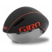 Capacete de Ciclismo Giro Aerohead Mips Cinza/Fire - M