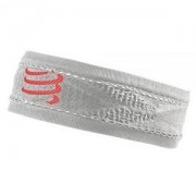 Head Band Fino Compressport Branco