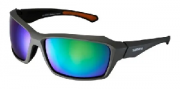 Óculos de Ciclismo e Corrida Shimano Ce-S22X Verde Fosco e Laranja