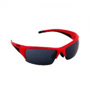Óculos de Ciclismo e Corrida Spiuk Vermelho - Lente Fumê