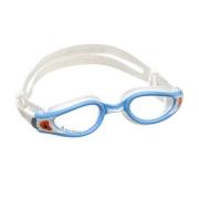 Óculos de natação aqua sphere kaiman exo small  Azul/Branco Lente Transparente