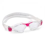 Óculos de Natação Aqua Sphere Kayenne Compact Fit Transparente /Rosa -Lente Transparente