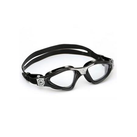 Óculos de Natação Aqua Sphere Kayenne Preto/Prata Lente Transparente