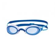Oculos de Natacao Zoggs Fusion Air Lente Azul - Azul e Branco