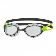 Oculos de Natacao Zoggs Predator Verde/Transparente - Lente Transparente
