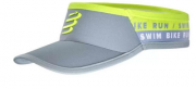 Viseira Ultralight Swim-Bike-Run Cinza - Ed. Limitada Tamanho:Unico;Cor:Cinza
