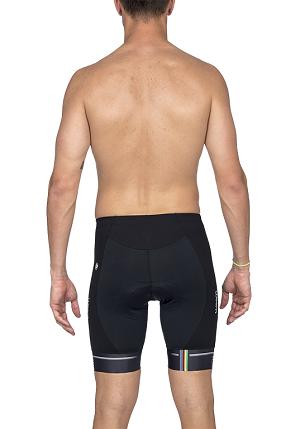 Bermuda Ciclismo Supreme Woom Preto / Branco Masc 2020