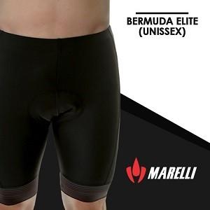 Bermuda de Ciclismo Marelli Elite Black Unissex