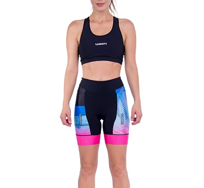 Bermuda Triathlon Woom 140 Capri Fem 2021
